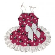 Vestido Pet Minnie Pink