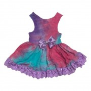Vestido Pet Tie Dye Purple