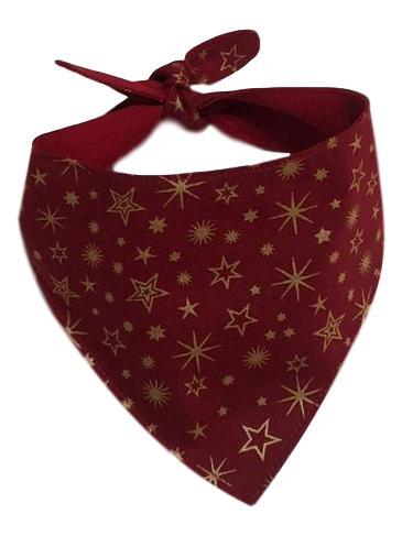 Bandana Pet Estrelas Natal