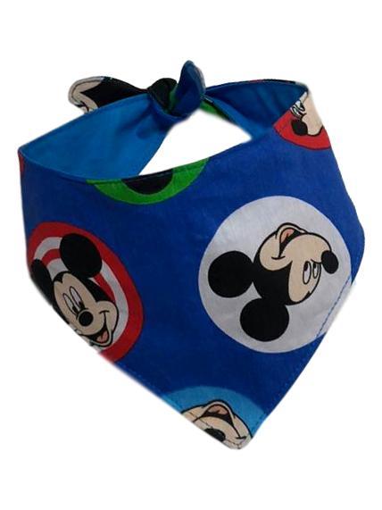 Bandana Pet Mickey Buttons