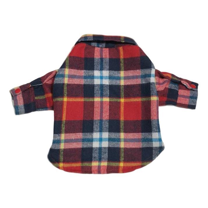 Camisa Pet Xadrez