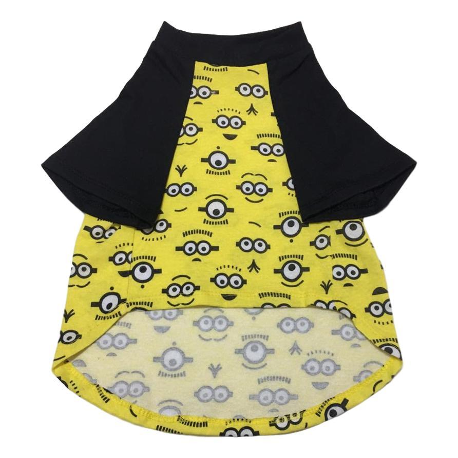 Camiseta Raglan Pet Porte Grande Minions