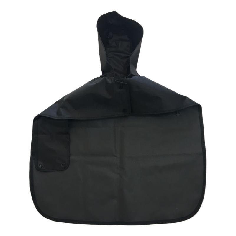 Capa de Chuva Pet Nylon Emborrachado Preto