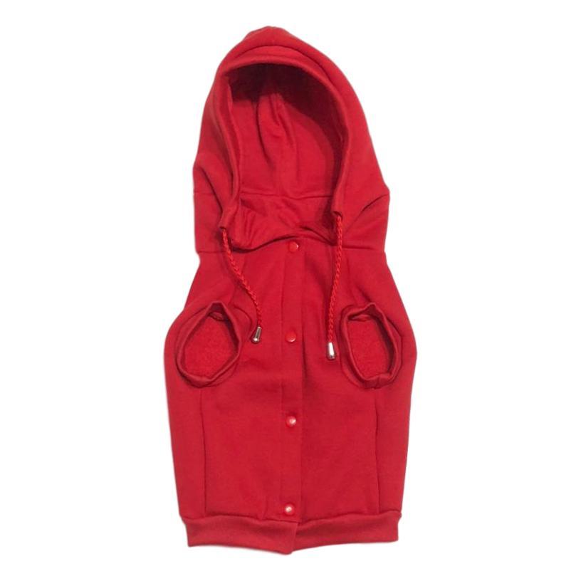 Casaco de Inverno Pet Red