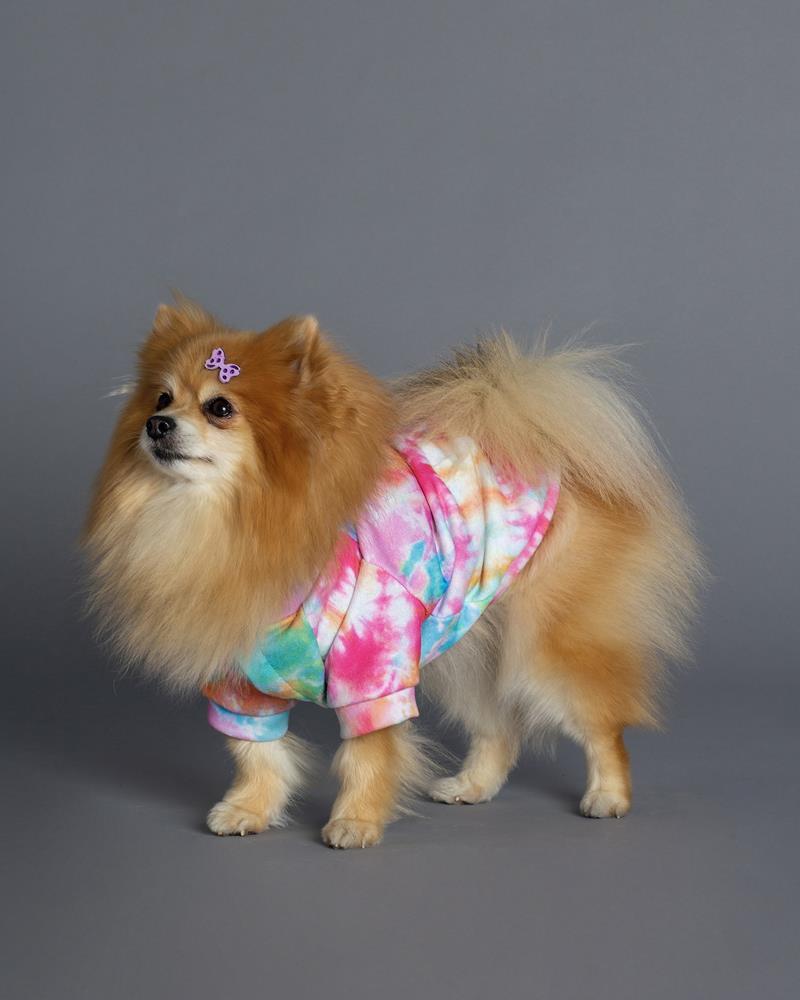 Casaco Moletom Pet Tie dye