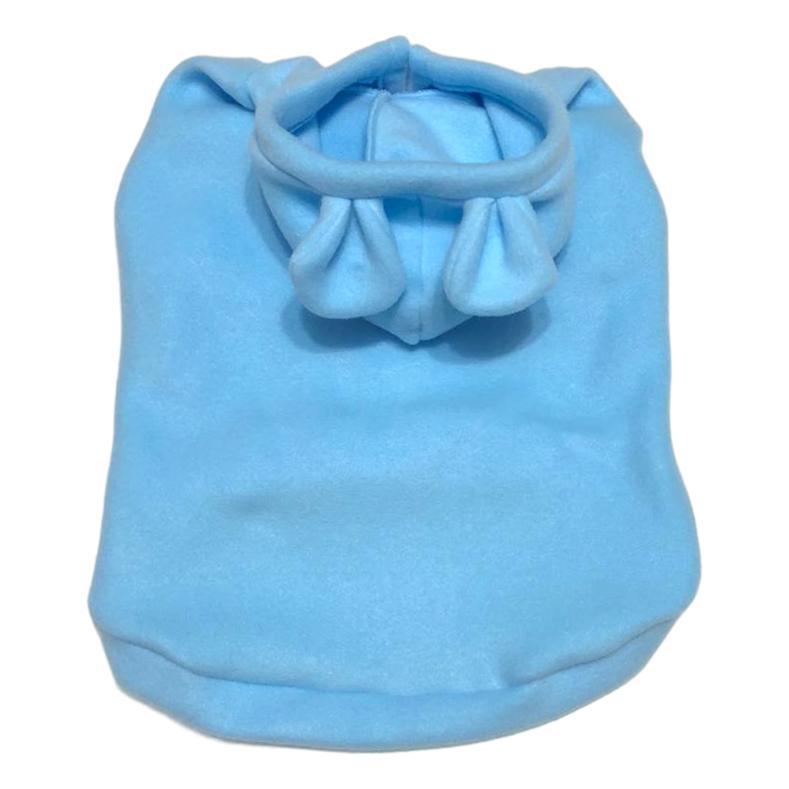 Moletom Pet Porte G Orelinhas Soft Blue