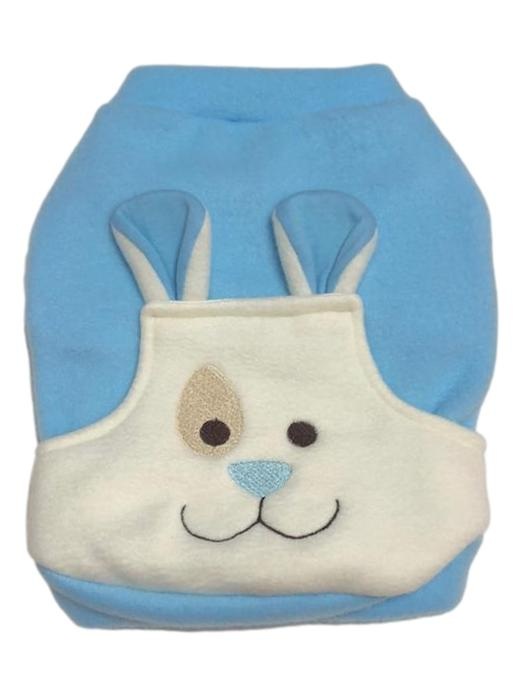Moletom Soft Pet Bolso Bear Azul