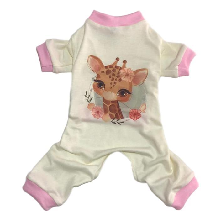 Pijama Pet Girafinha