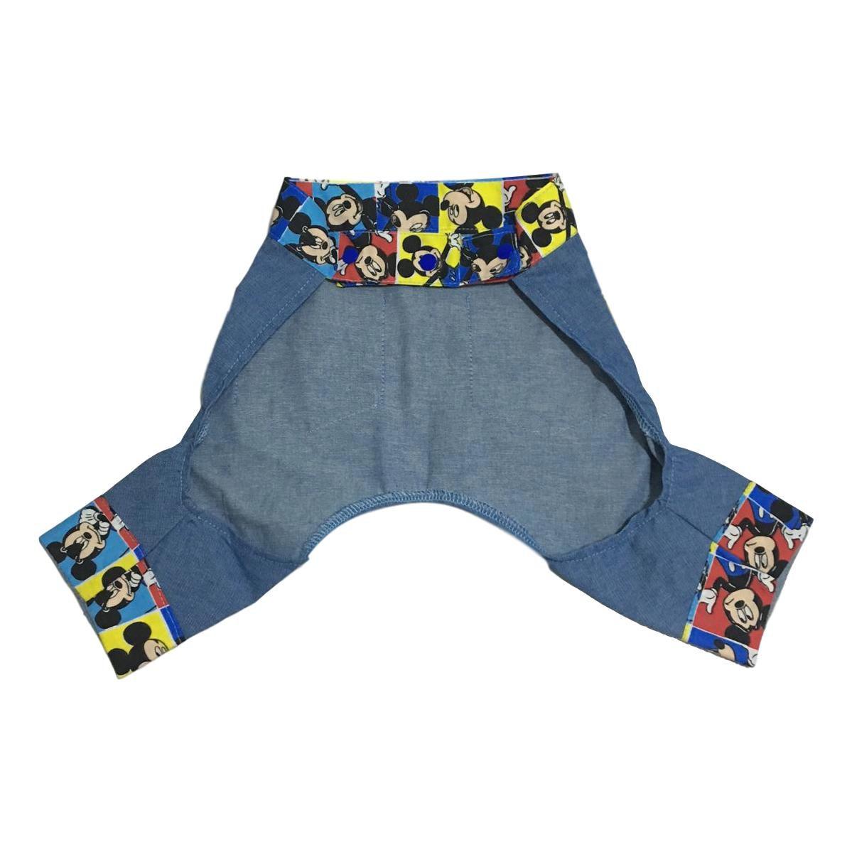 Short Pet Jeans Mickey