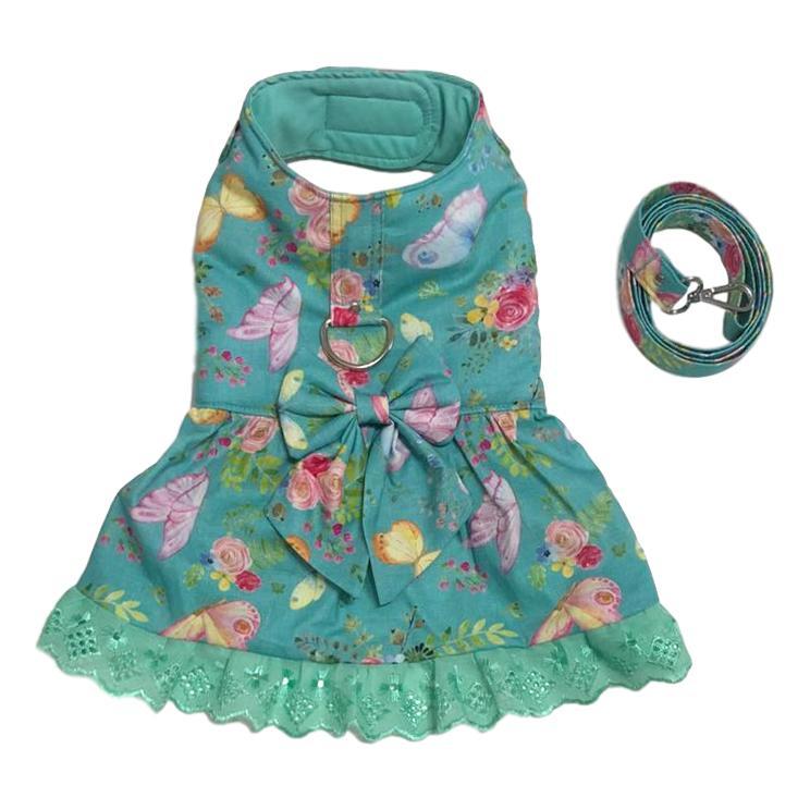Vestido Com Guia Borboleta Jade