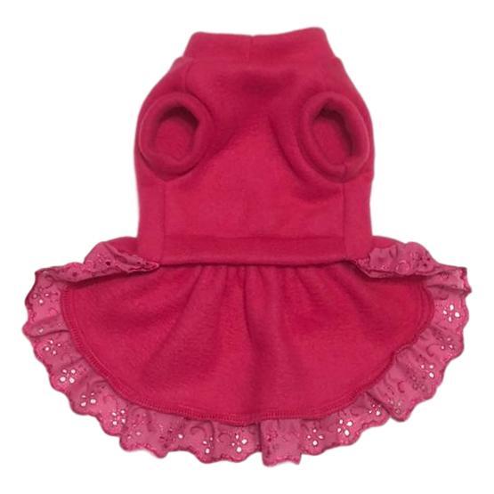 Vestido Pet de Inverno Pink