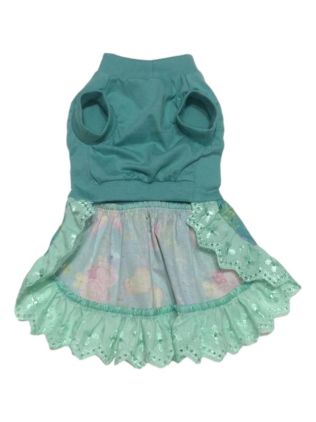 Vestido Pet Malha Jade