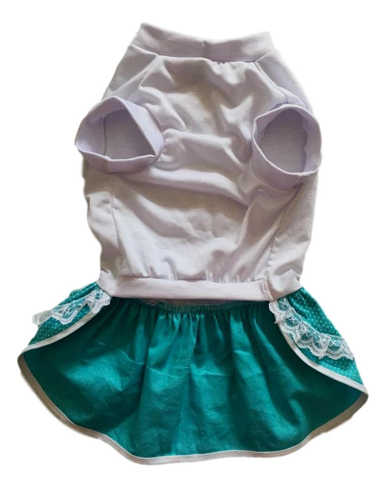 Vestido Pet Malha Tifany Poá