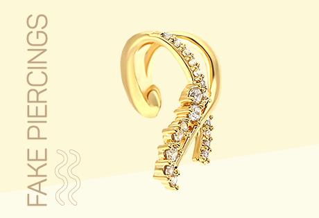 piercings falso de orelha