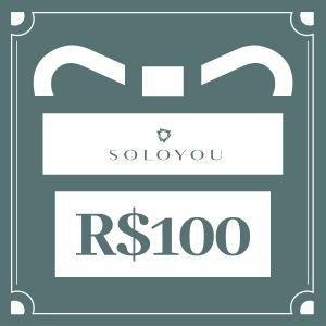 Cartão Presente Surpreenda com Soloyou - R$ 100
