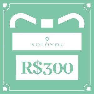 Cartão Presente Surpreenda com Soloyou - R$ 300
