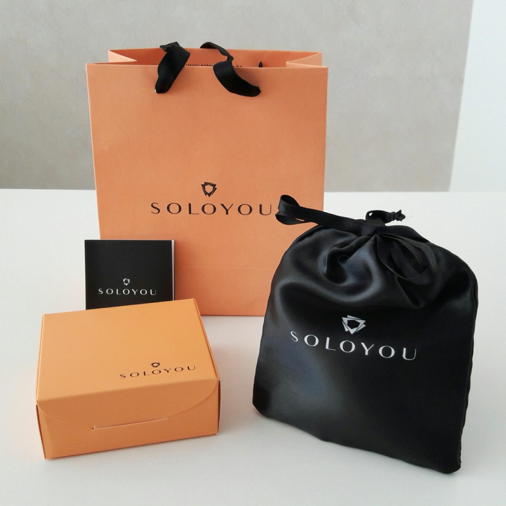 Caixa de Presente Soloyou Tamanho P - para Revendedoras  - Soloyou