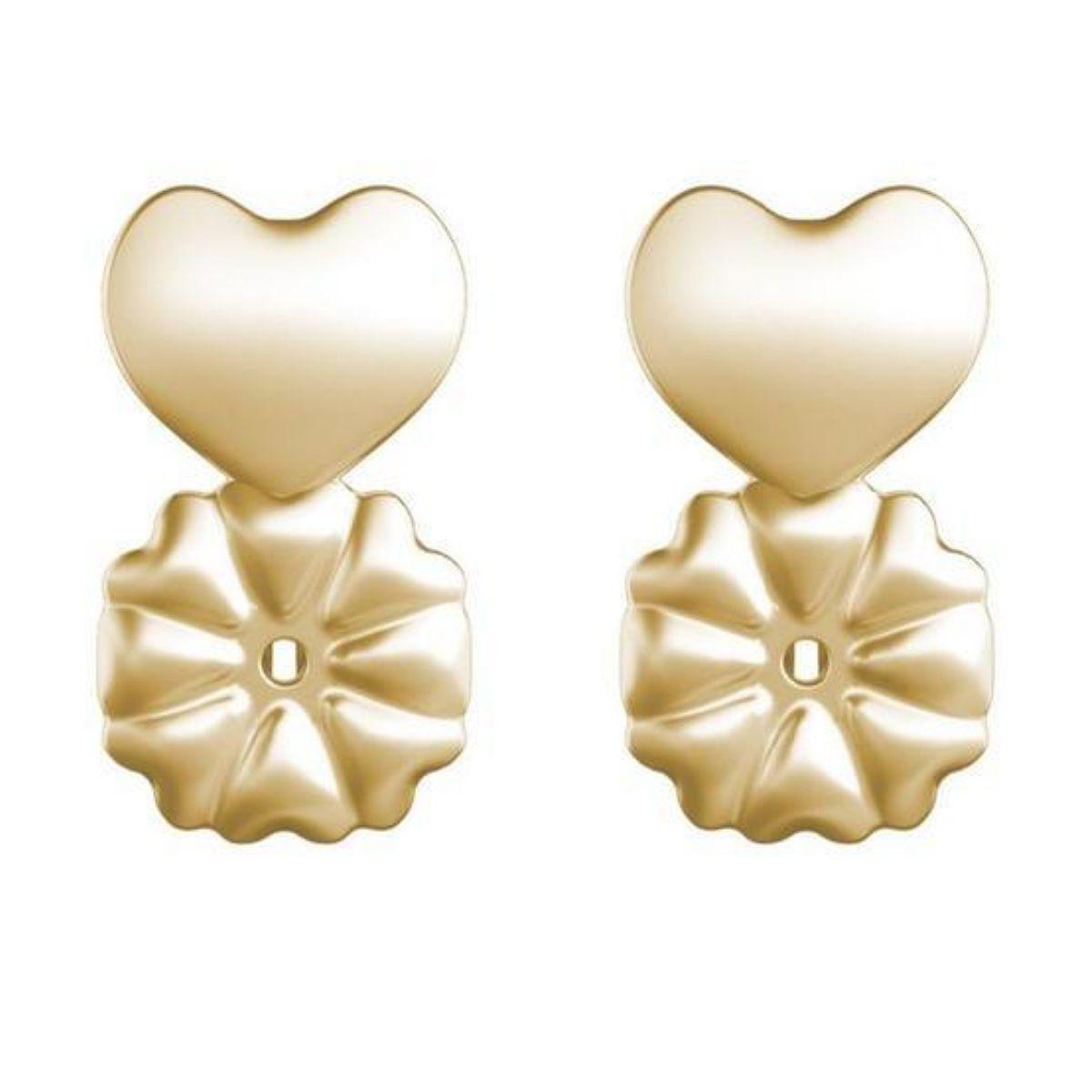 Ear Cuff Turquesa Palito Zircônias Semijoia Fashion Ouro  - Soloyou