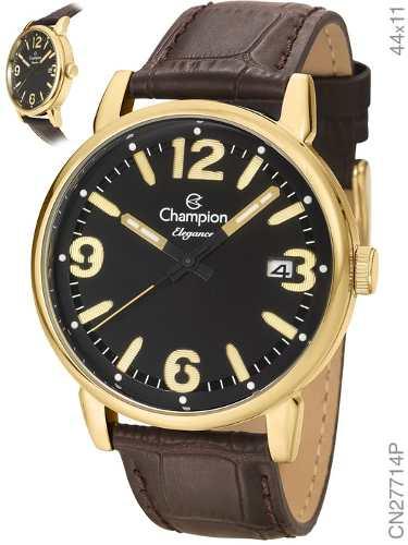 Relógio Champion Cn27714p Dourado