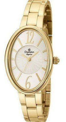 Relógio Champion Elegance Feminino Dourado Cn27447h