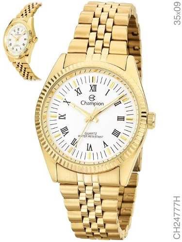Relógio Champion Feminino Dourado Ch24777h