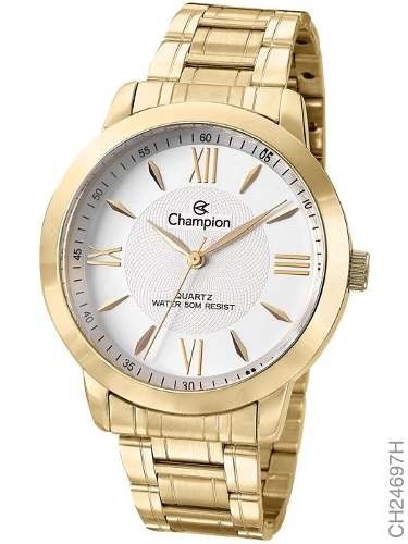 Relógio Champion Feminino Passion Dourado Ch24697h