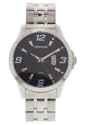 Relógio Technos 2115kqf1a Prata