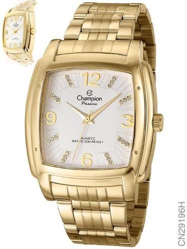 Relógio Champion Passion Feminino Dourado Cn29196h