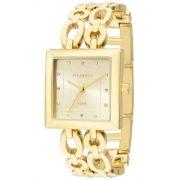 Relógio Technos Feminino Dourado Elegance 2035lza/4x