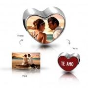 Berloque Coração Personalizado