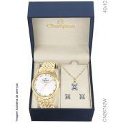 Relógio Champion Cn26742w Kit