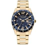 Relógio Technos Masculino Dourado 2115LAJ4A