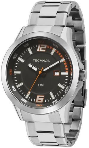 Relogio De Aço Technos 2115knf1p
