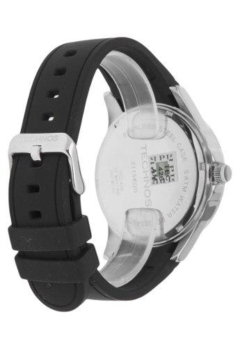 Relógio Technos 2115kqd8r Prata