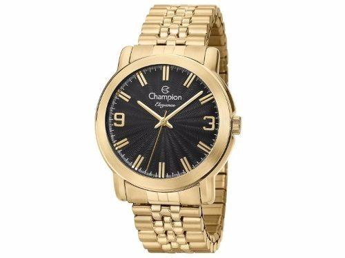 Relógio Champion Feminino Dourado Cn27803u Passion