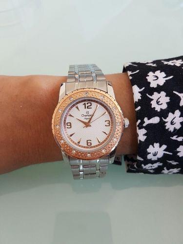 Relógio Champion Feminino Prateado Cn27303q