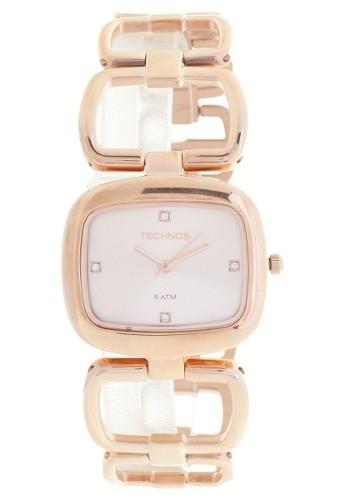 Relógio Technos 2035lqu/4t Rosa