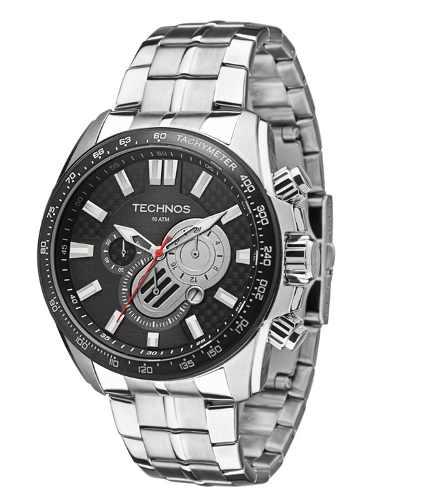 Relógio Technos Masculino Aço Os2aan1p
