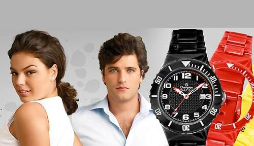 Relógio Champion Cp30119x Troca Pulseiras