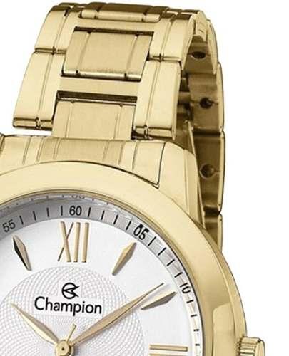 Relógio Champion ch24697h Feminino Passion Dourado