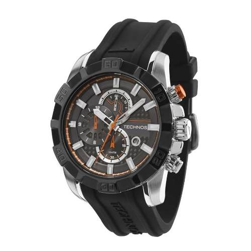 Relogio Technos Masculino Performance Ts Carbon Os1aar/8p