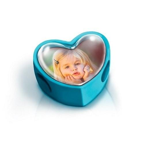 Berloque Personalizado Com Sua Foto Coração - Vermelho