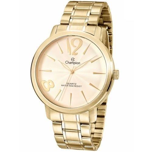 Relógio Champion Feminino Dourado Cn29598x