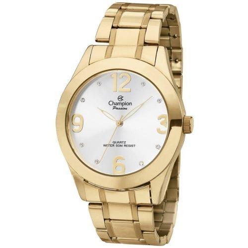 Relógio Champion Feminino Dourado Passion Ch24268h