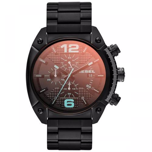 Relógio Diesel Original Esportivo Preto Dz4316/1pn