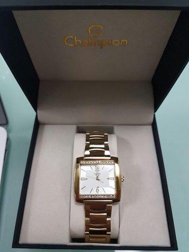 Relógio Champion Feminino Dourado Ch24571h