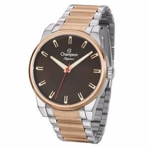 Relógio Champion Masculino Prata Cn27590o