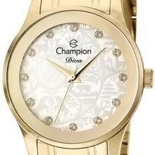 Relógio Champion Feminino Diva Dourado Cn27410h