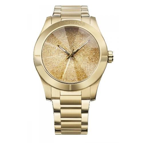 Relógio Technos Feminino Elegance Crystal 2039al/4d