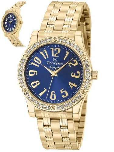 Relógio Champion Feminino Dourado Cn26135a